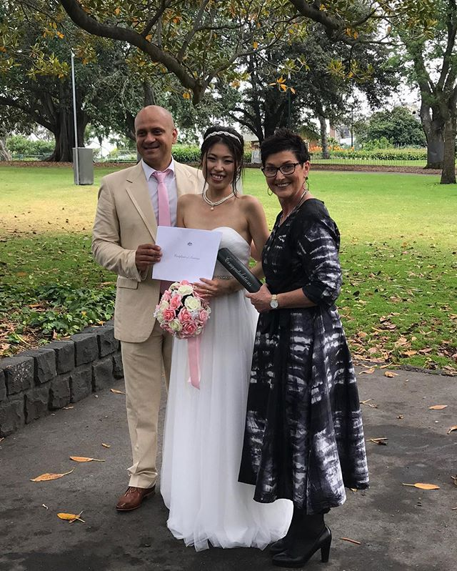 Last wedding in Australia for the year! Congratulations Donovan and Fumie and thanks for choosing a wedding time when it wasn't raining today – inspired!!